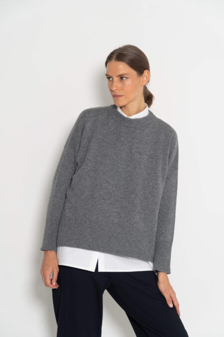 jersey oversize gris