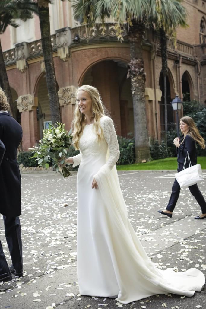Fotos de vestidos de novia manga larga
