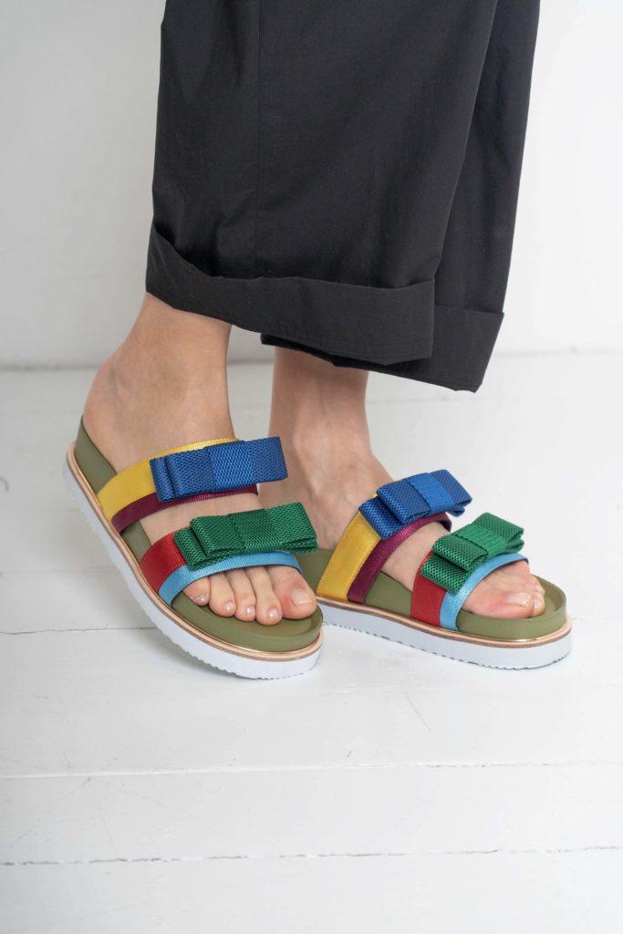 sandalia multicolor suecomma bonnie