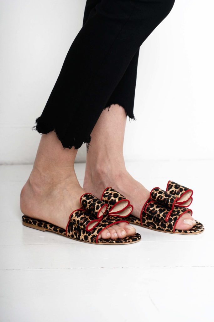 animal print sandals polly plume