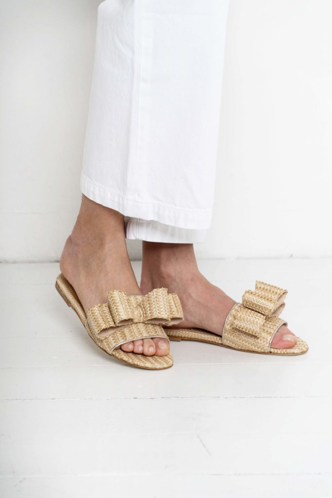 beige polly plume sandals