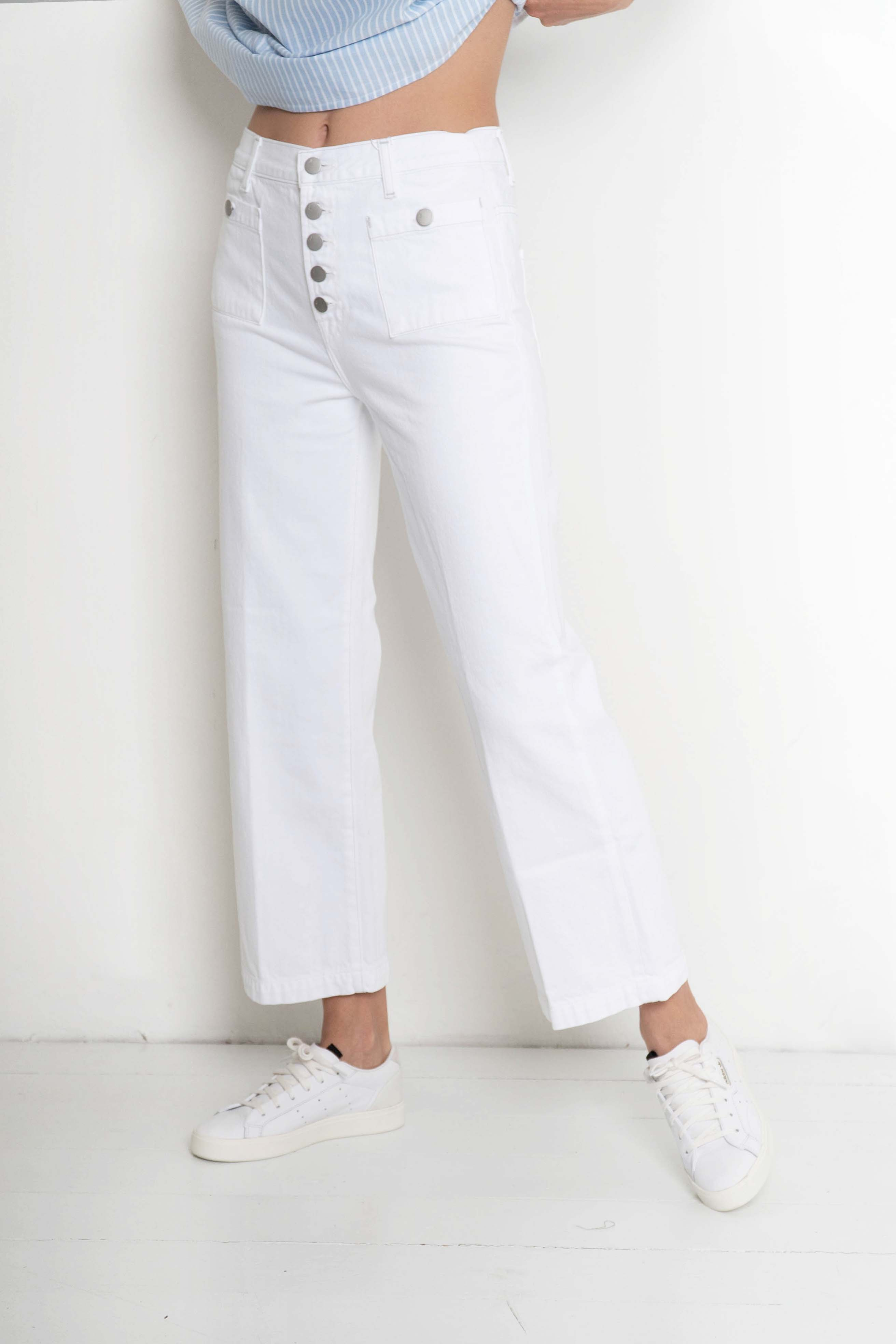 jeans blancs jbrand barcelona