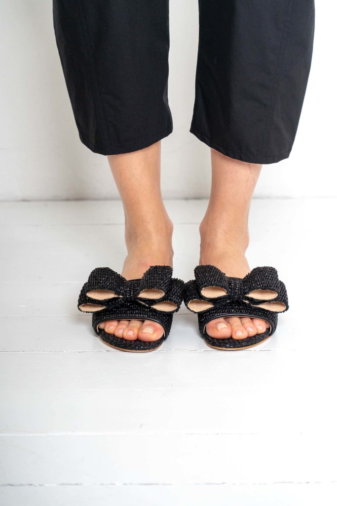 black sandals polly plume