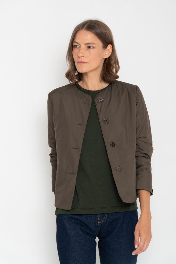 chaqueta acolchada aspesi