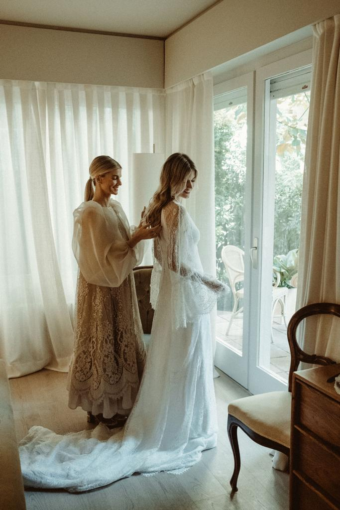 vestido pati sañes invitada