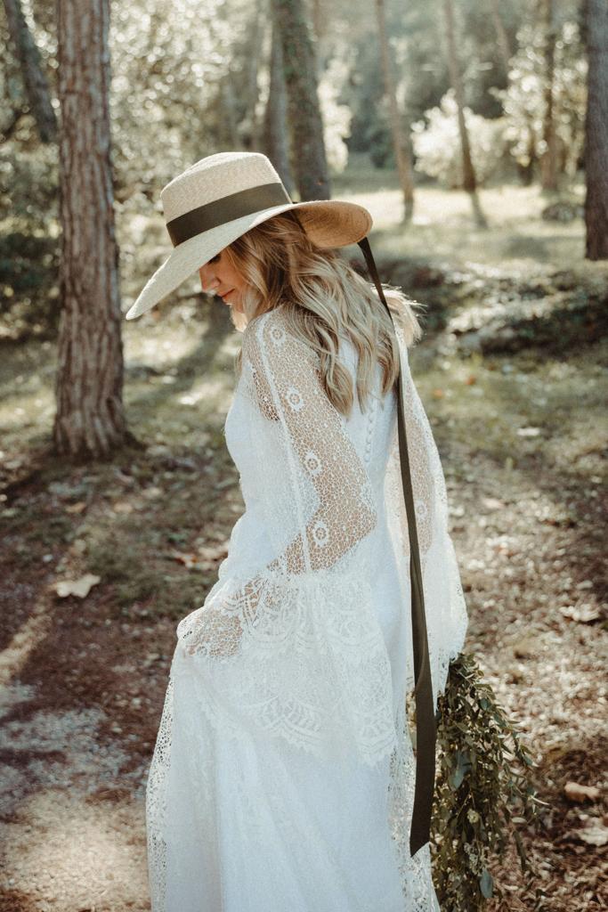 vestido de novia tot-hom andrea sañes