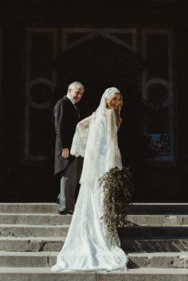 vestido de novia andrea sañes tot-hom