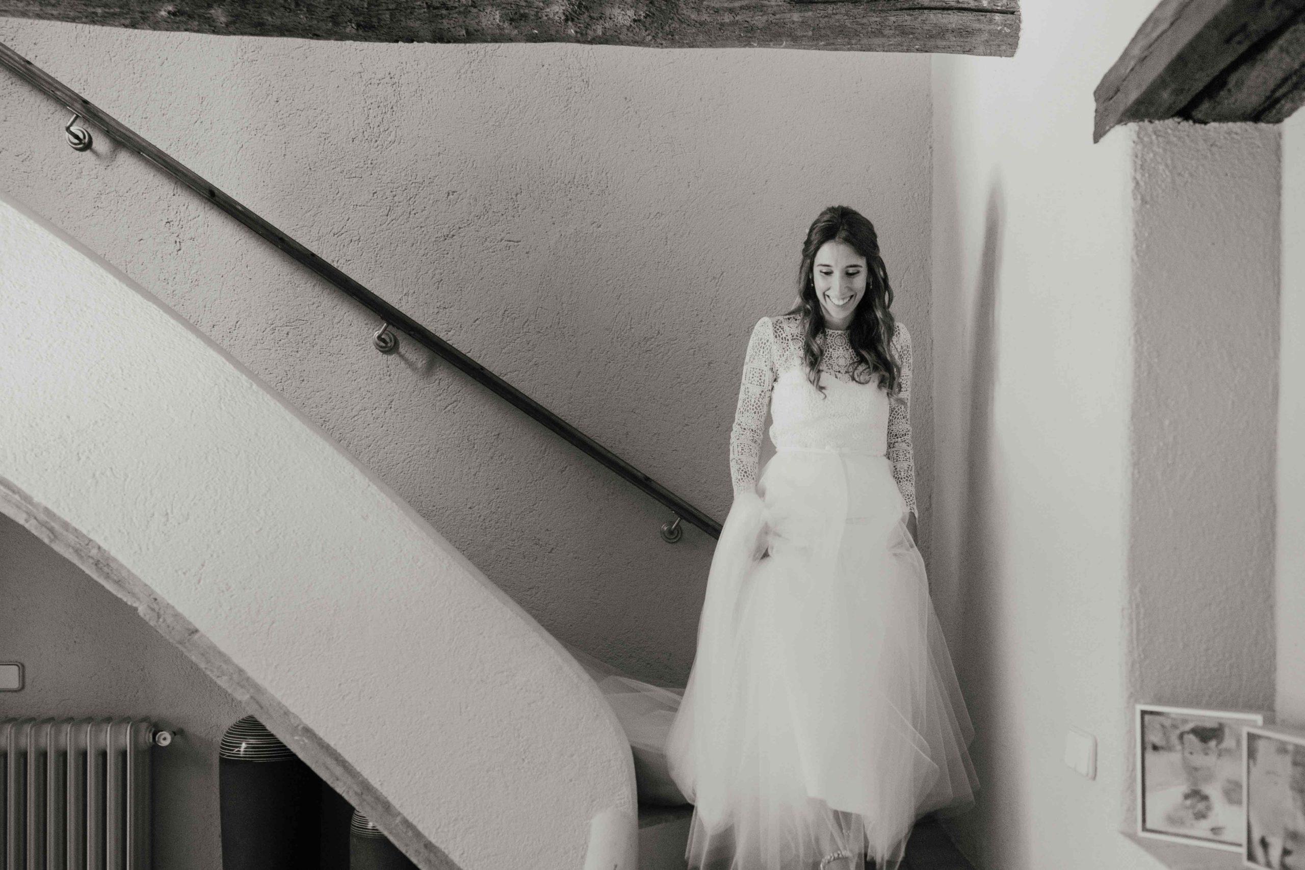 vestido de novia alta costura barcelona