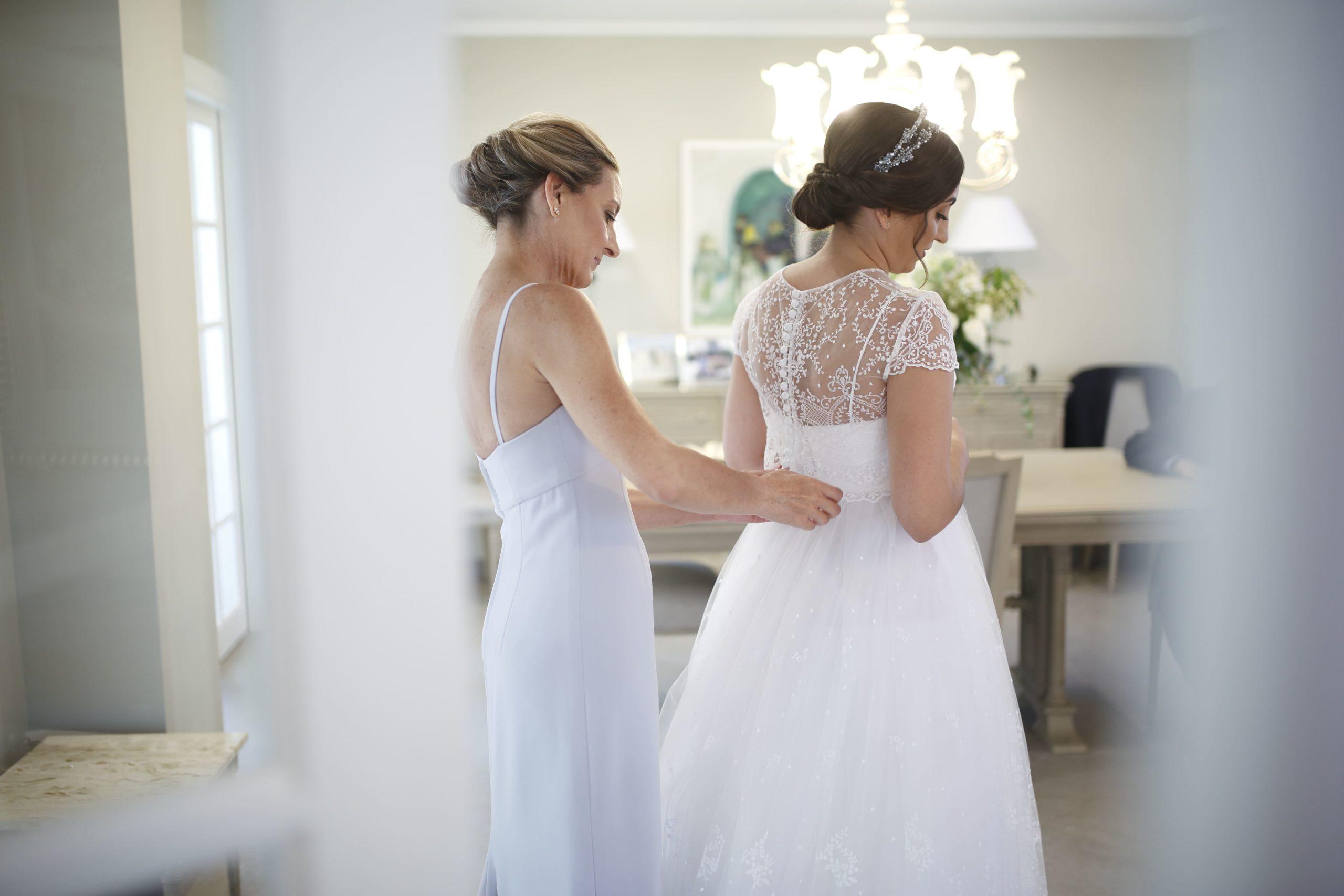 vestido de novia de alta costura en barcelona