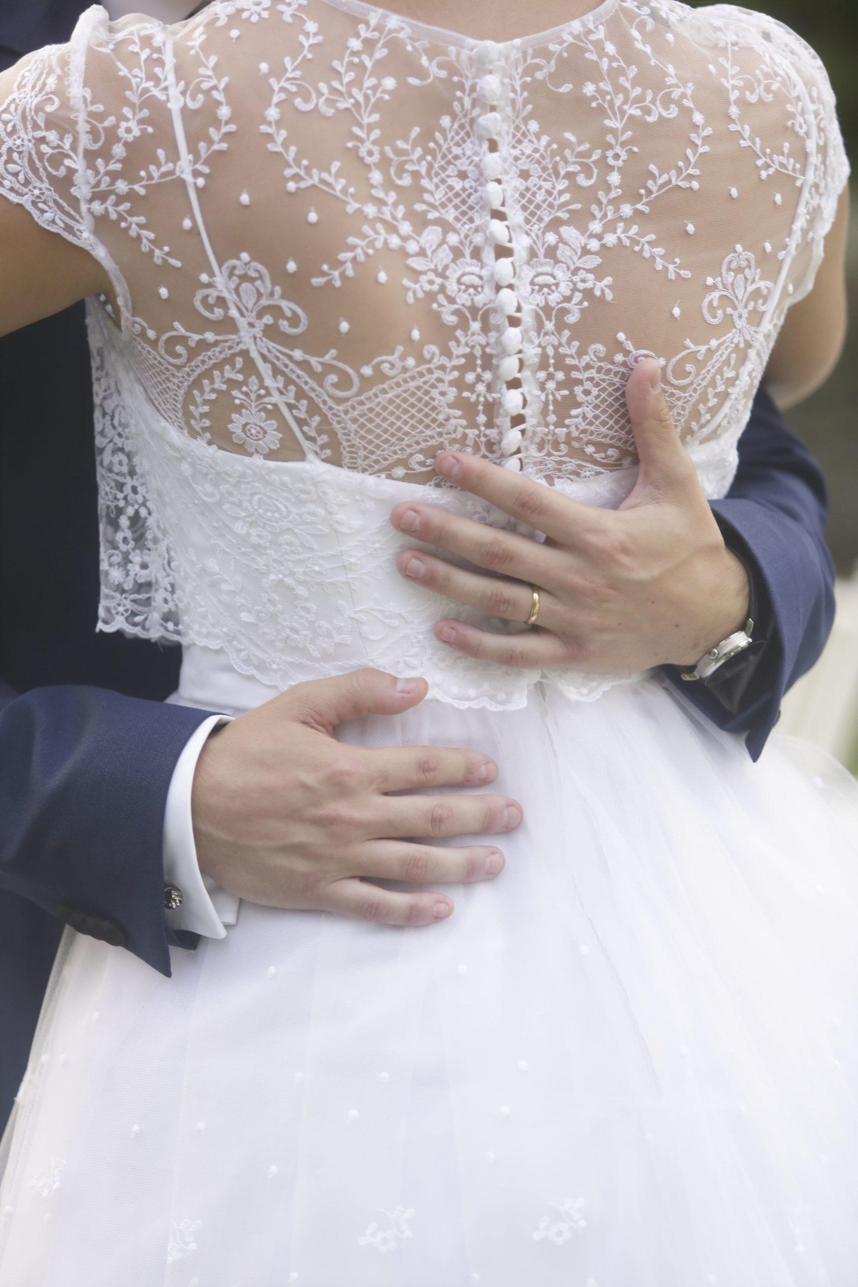 vestit de núvia d'alta costura