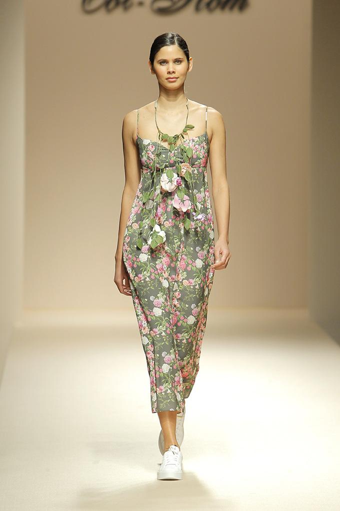 Vestido tirantes flores