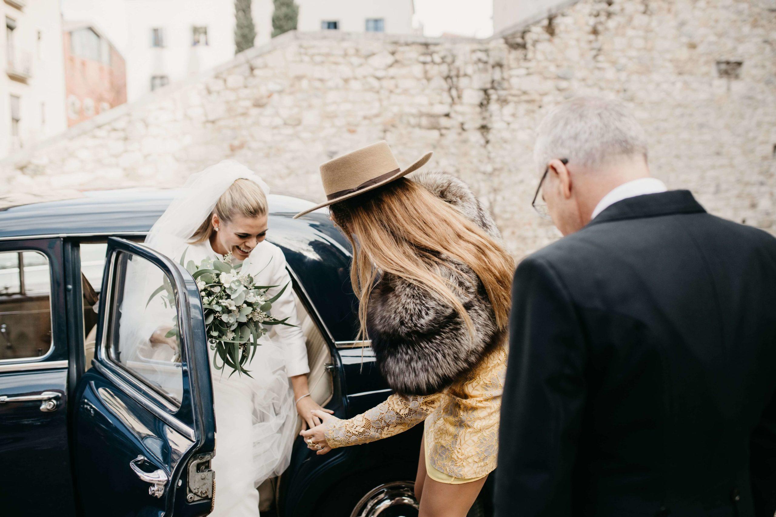 vestido de novia abrigo tot-hom