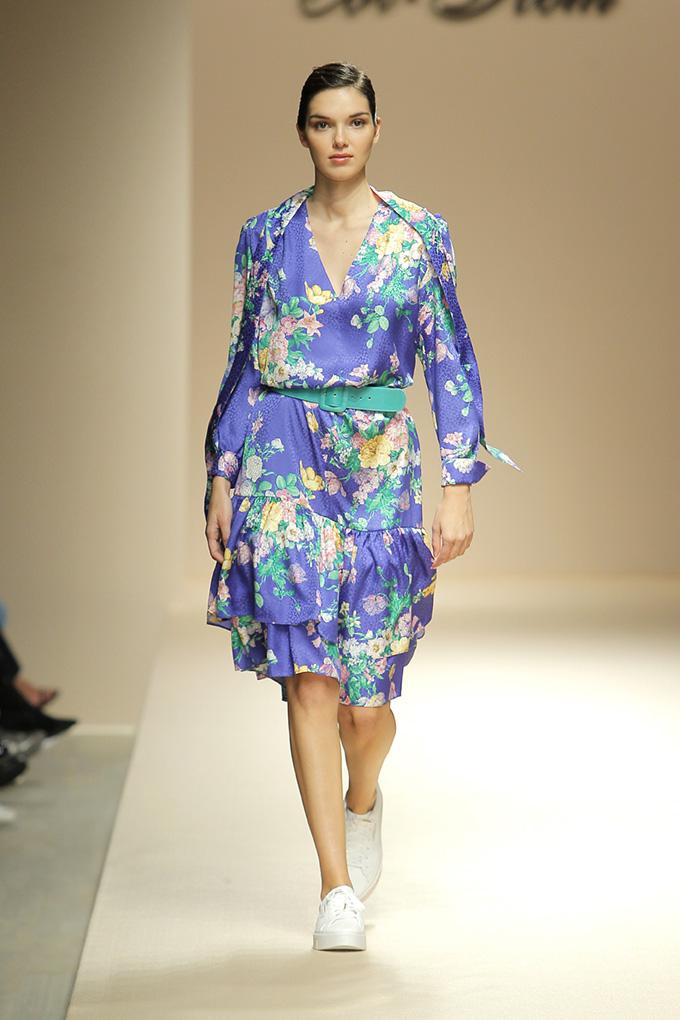 estampado floral vestido