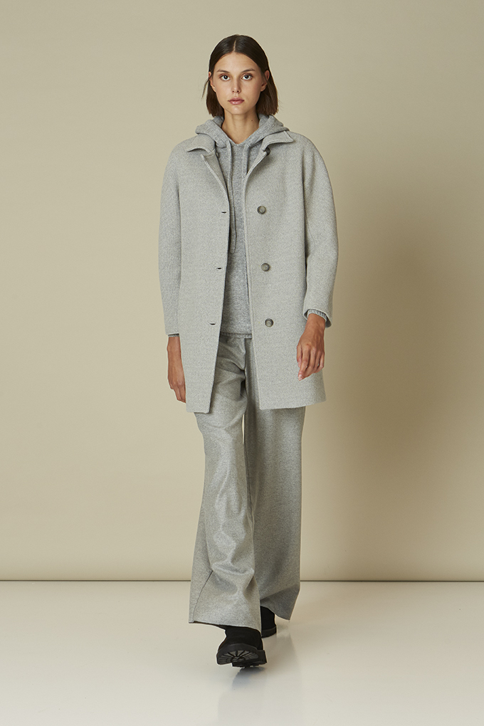 JERSEY CAPUCHA GRIS