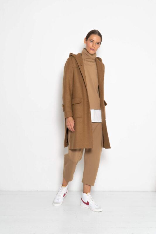 abrigos de lana con capucha
