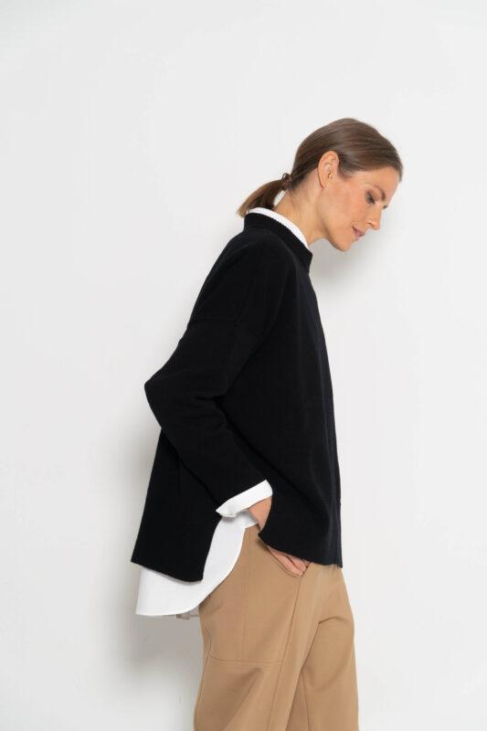 jersey cashmere negro