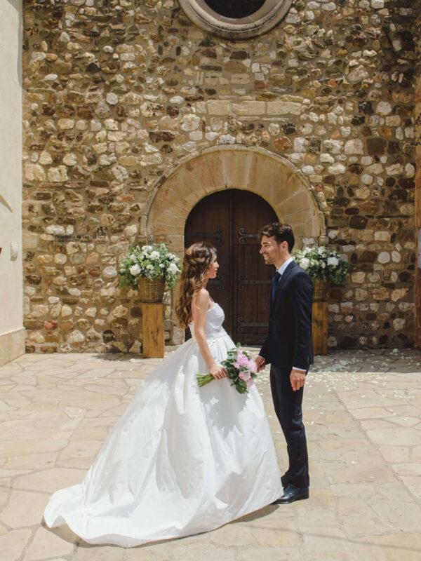 vestido de novia con pedrería tot-hom
