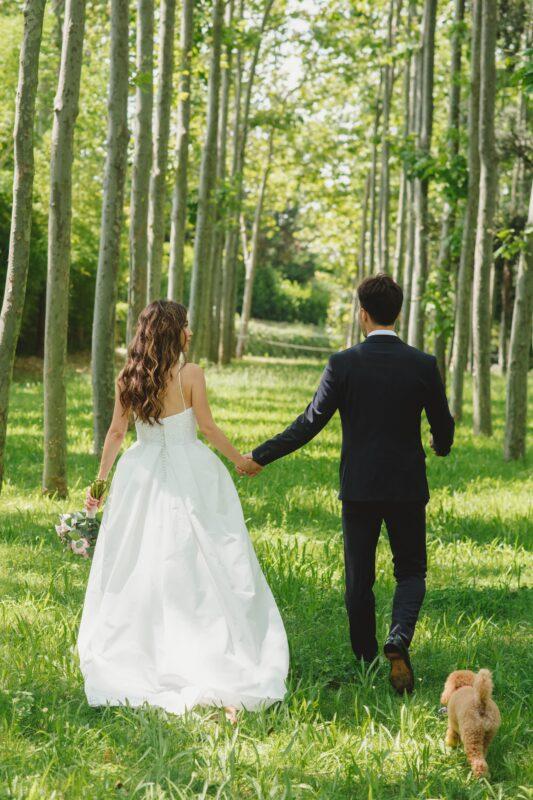 vestit de núvia amb pedreria tot-hom