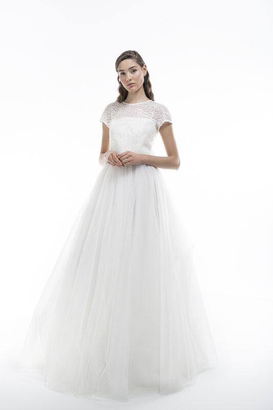 vestits de tul per a núvia