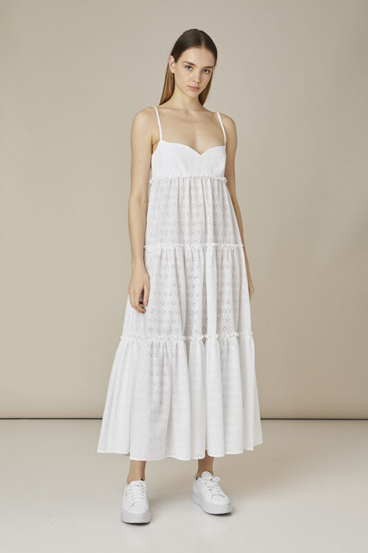 vestido de playa blanco tot-hom