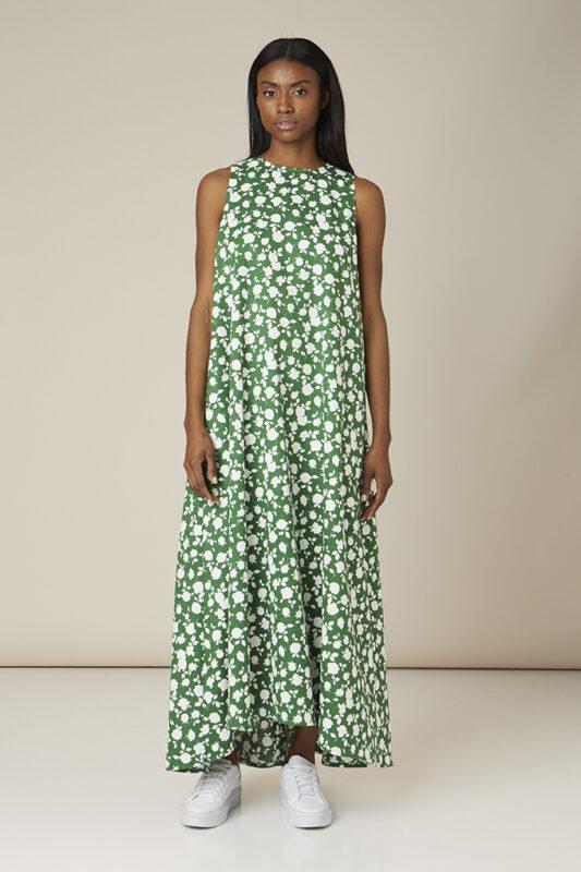 vestido estampado tot-hom color verde