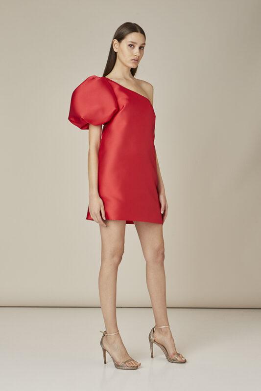 invitada perfecta vestido corto rojo