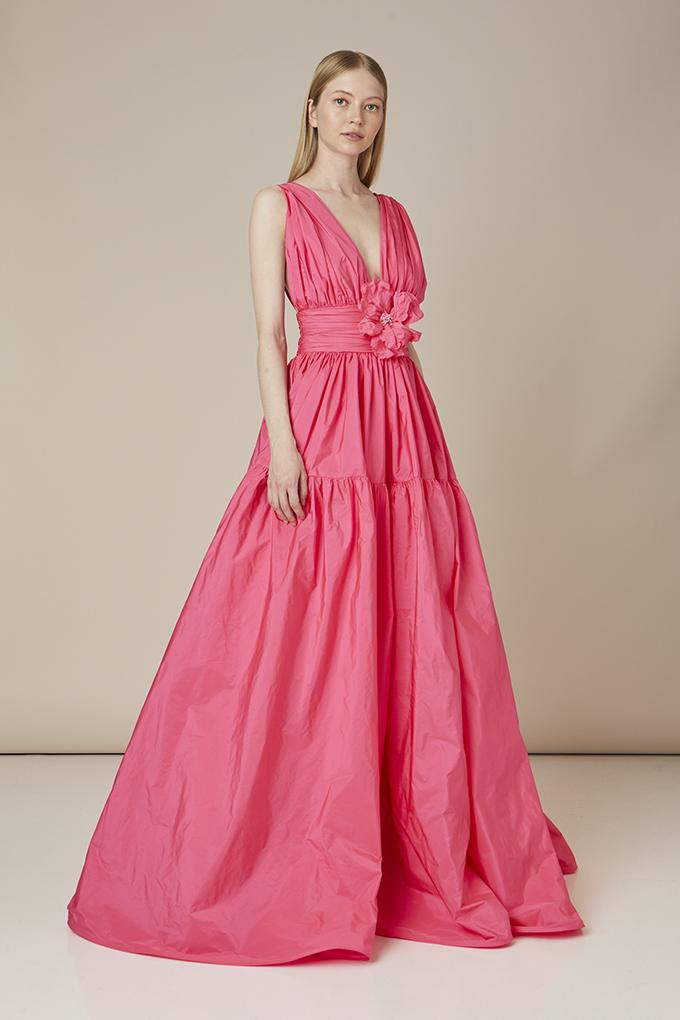 vestido invitada perfecta con flor