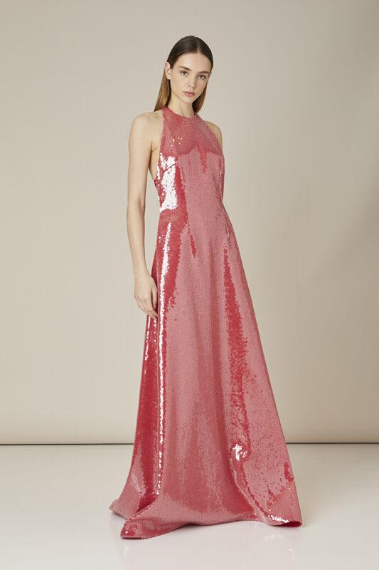 vestido invitada perfecta rosa